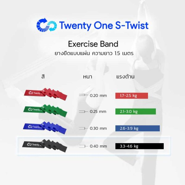 Exercise Band Black