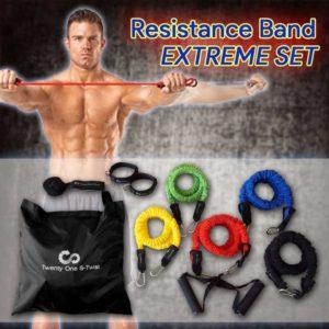 resistance tube extreme set