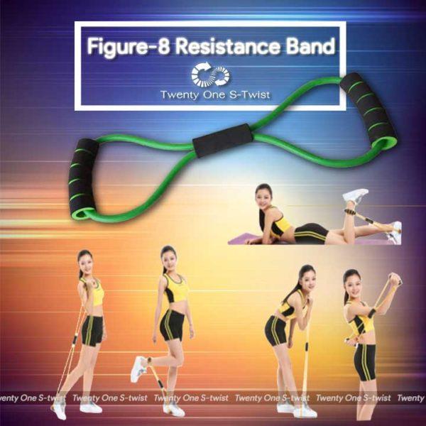 Figure-8 Resistance Band