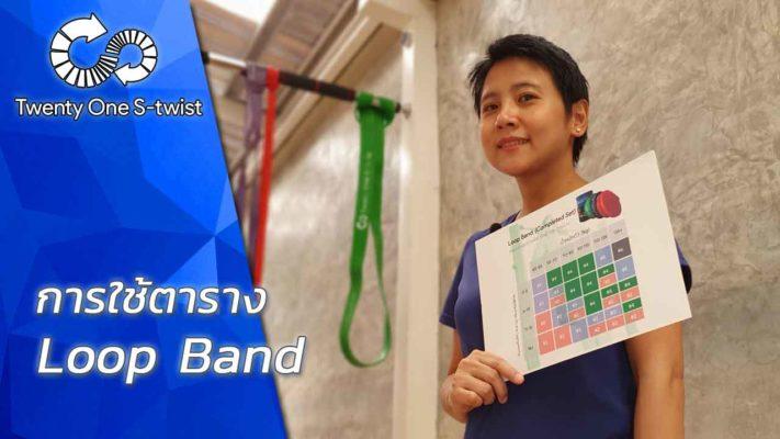 การใช้ตาราง Loop Band